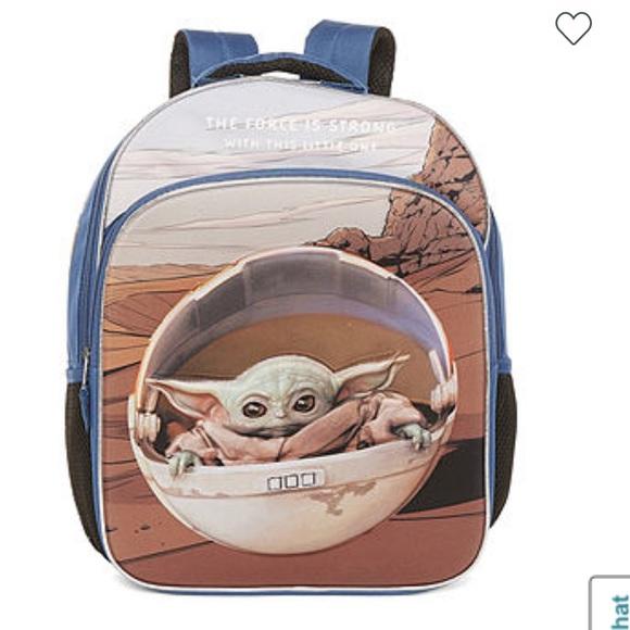 Star Wars Mandalorian Baby Yoda NWT Backpack
